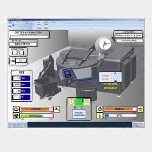 El sistema de monitoraje SCADA para elaborados