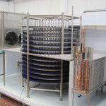 """TÚNEL ESPIRAL PARA ENFRIAMIENTO O ULTRACONGELACIÓN – Modelo """"Container"""""""